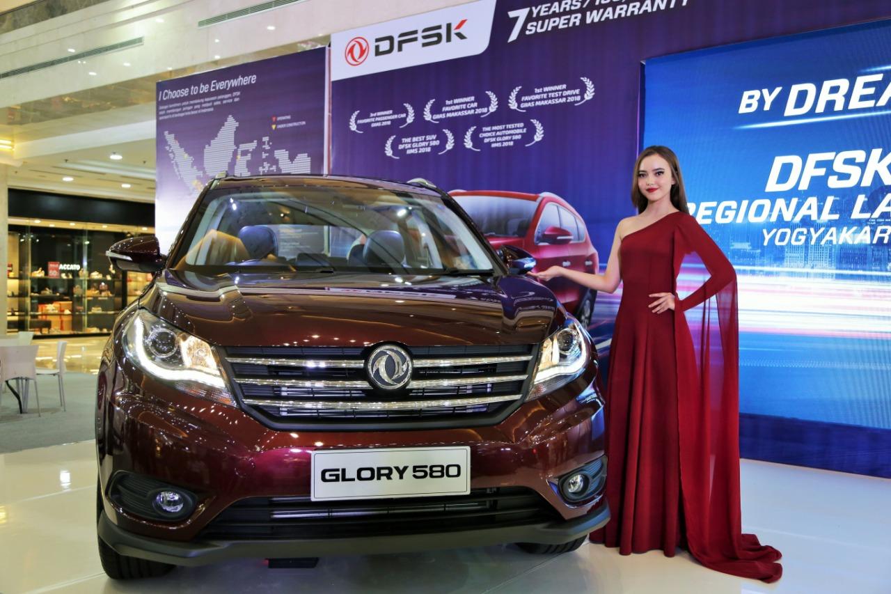 DFSK Glory 580 Resmi Sapa Kota Yogyakarta