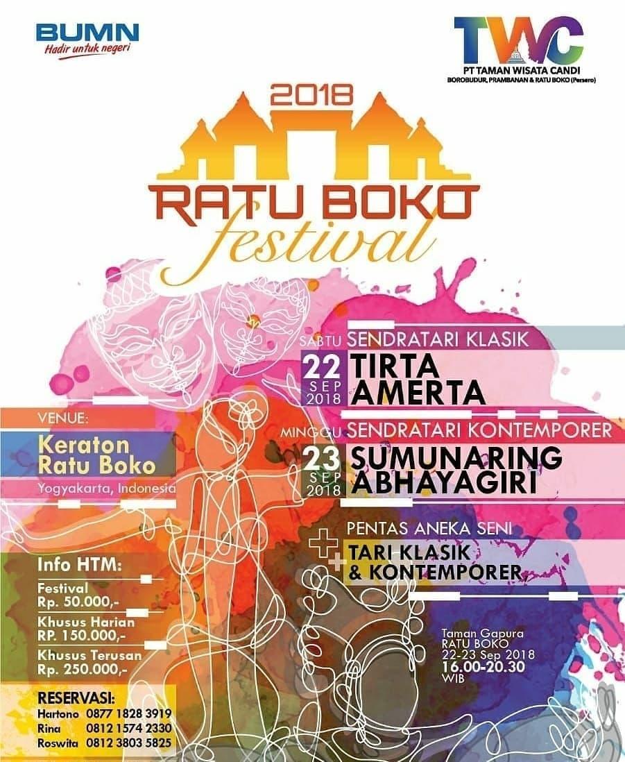 Ratu Boko Festival 2018