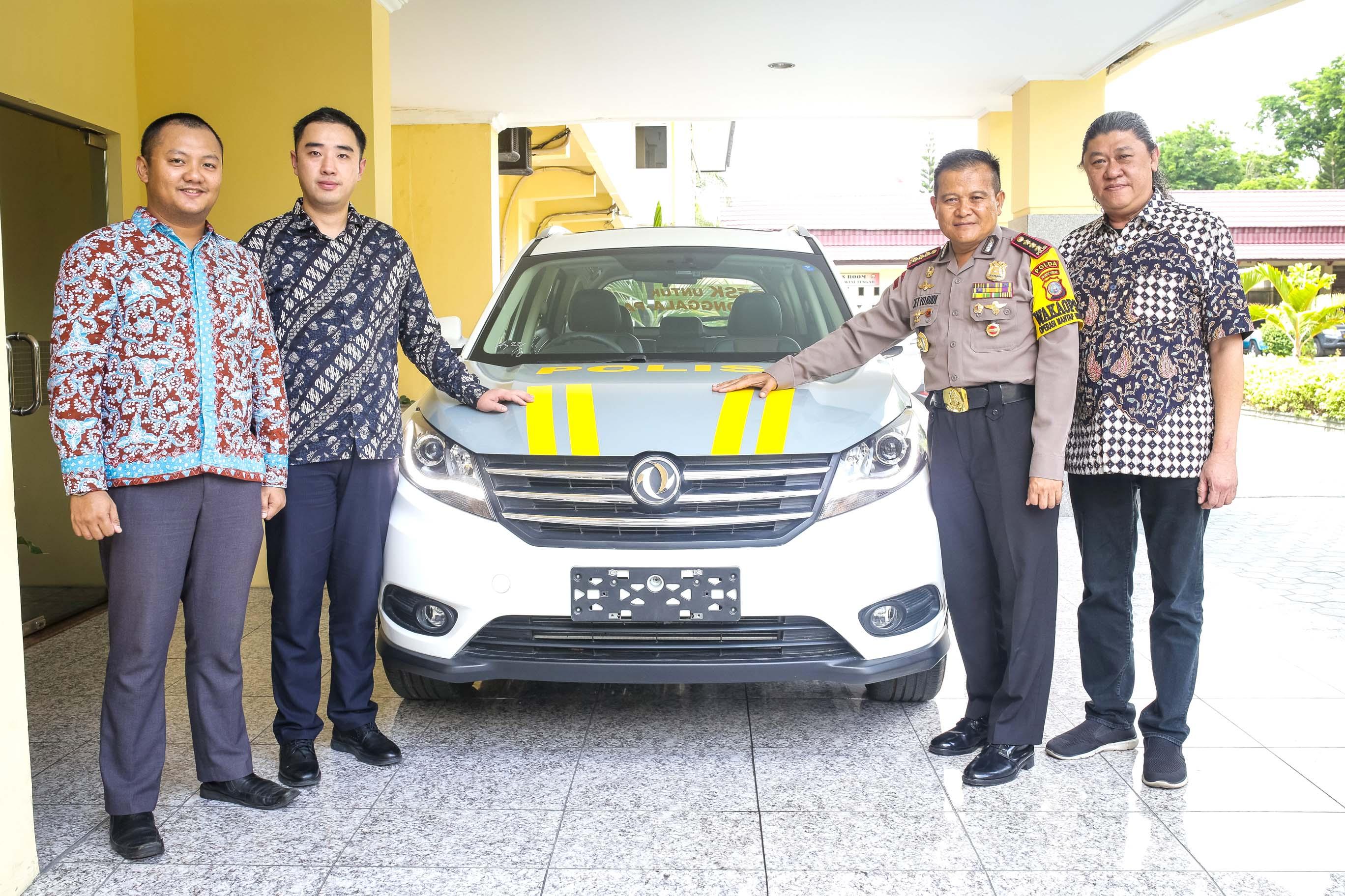 DFSK Indonesia Donasikan Glory 580 Kepada Polda Sulawesi Tengah