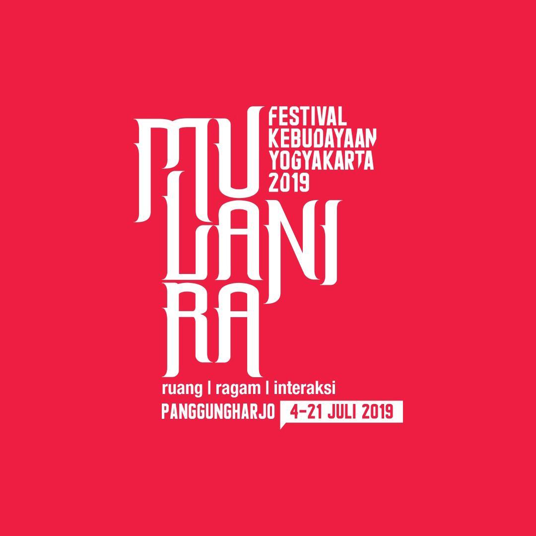 Festival Kebudayaan Yogyakarta (FKY) 2019mengangkat temaMULANIRA: ruang | ragam | interaksi diselenggarakan 4 – 21 Juli 2019