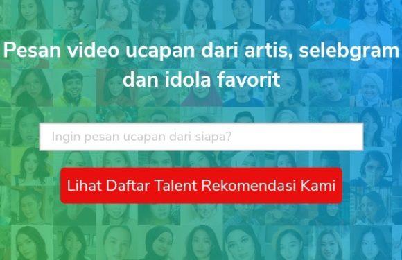 Pesan Video Ucapan Personal dari Artis Idola
